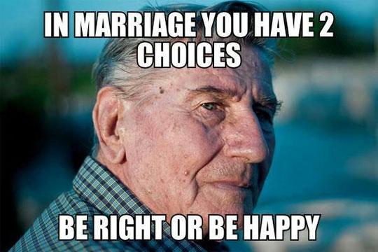 funny-marriage-advice-happy-right-choice