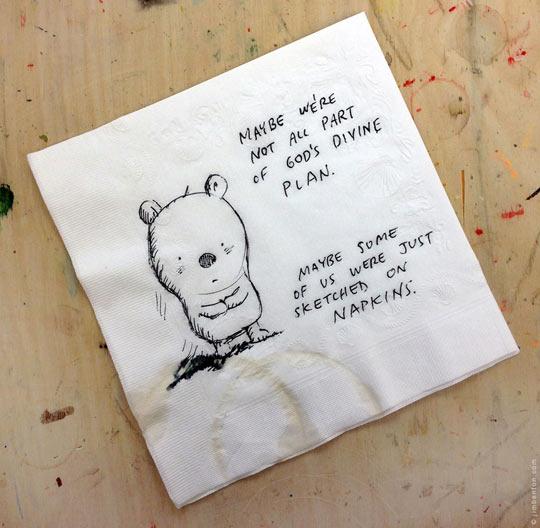Poor Little Sketched Guy