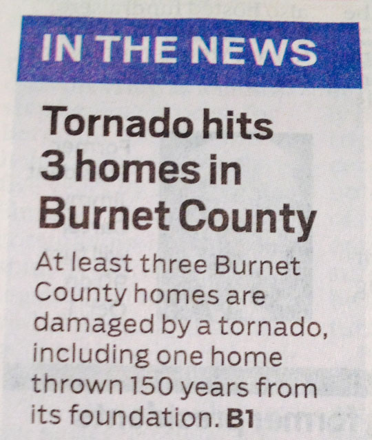 That Must Have Been Some Storm
