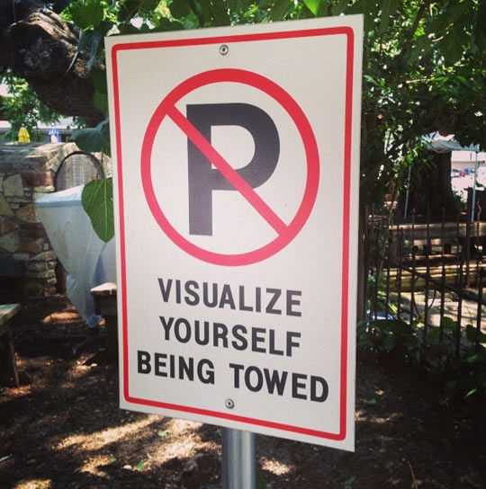 funny-no-parking-sign-towed