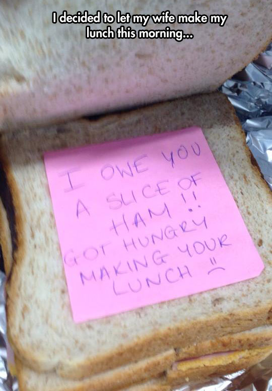 funny-note-lunch-slice-ham