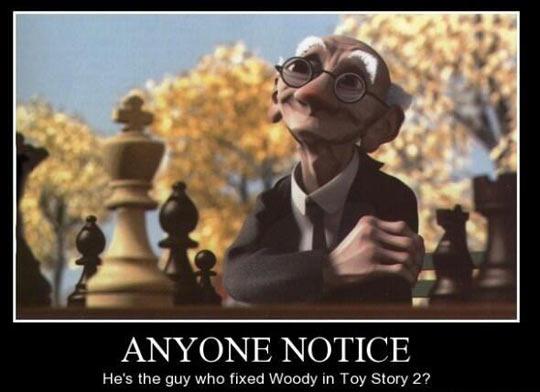 Mind Blowing Pixar Fact
