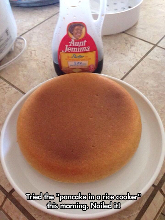 Epic Pancakes With A Japanese Rice Cooker