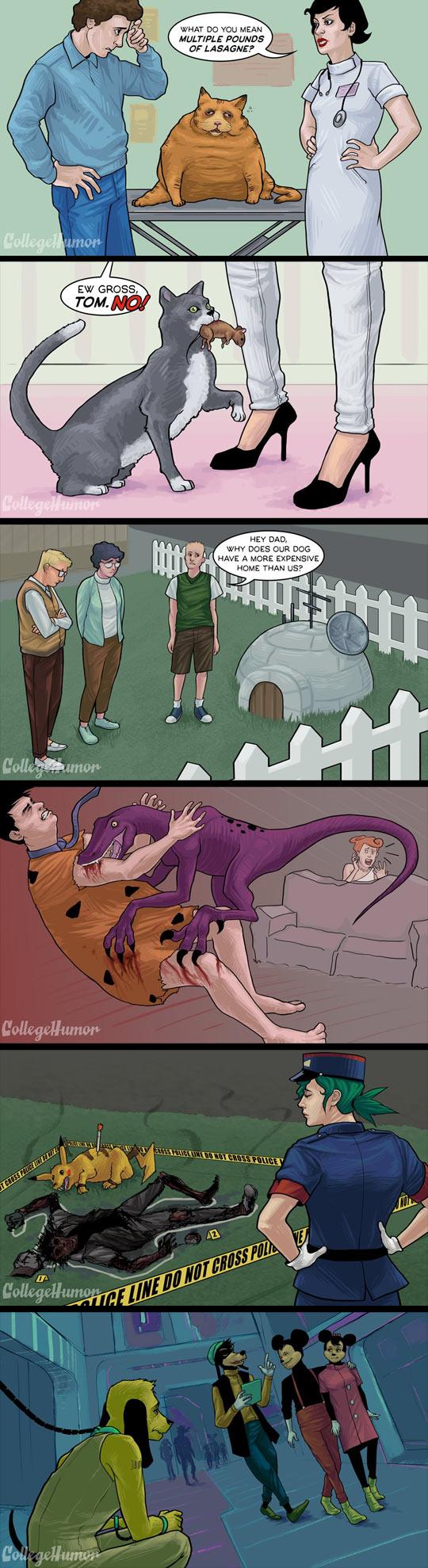 funny-pet-cartoon-Garfield-real