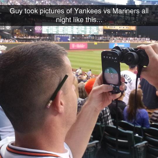 Binocular Photographer