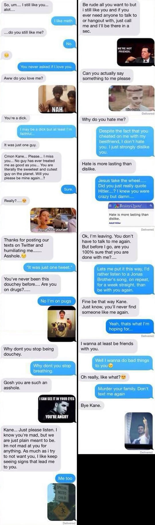 Trolling Your Ex At Its Finest