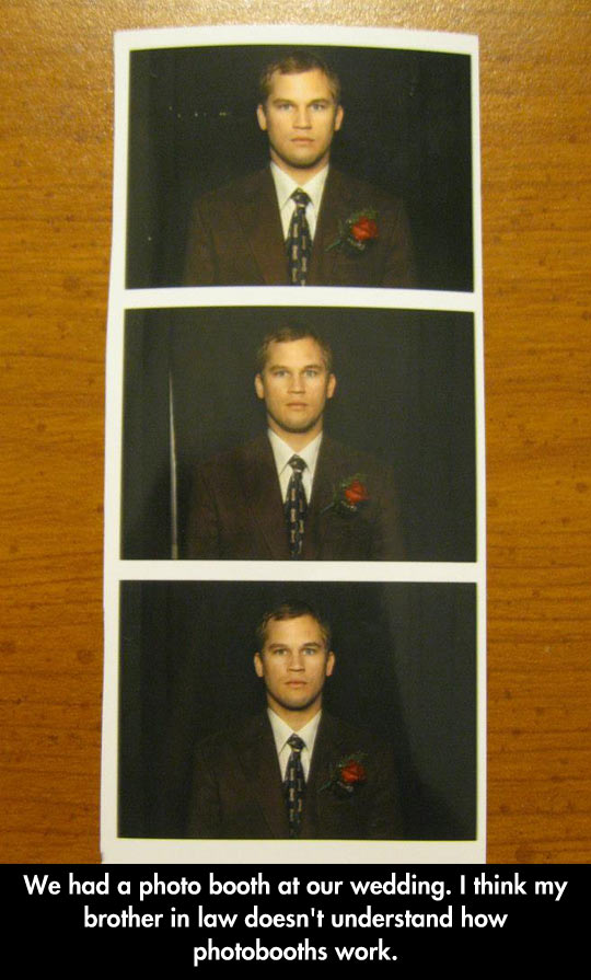 Photobooth In A Wedding