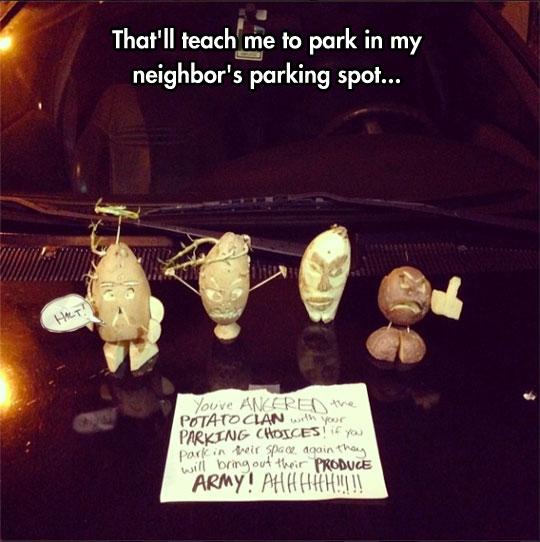 funny-potato-parking-spot-prank-note