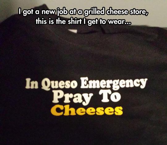 Such A Cheesy Shirt