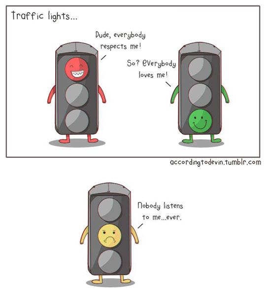 Poor Yellow Light