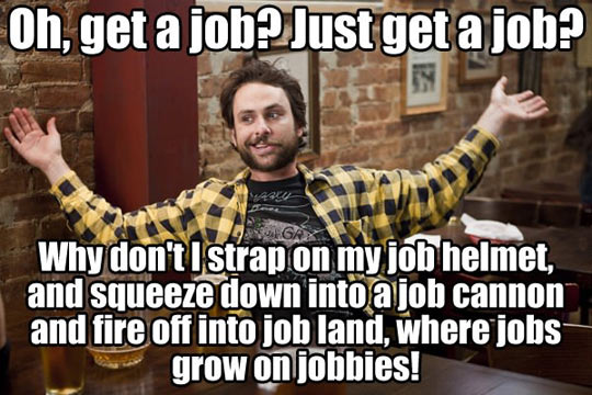 Unemployment In A Nutshell