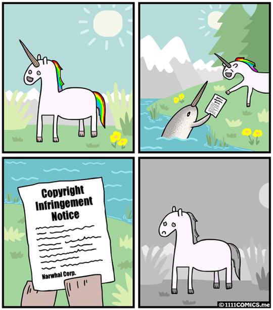 funny-unicorn-copyright-notice-comic