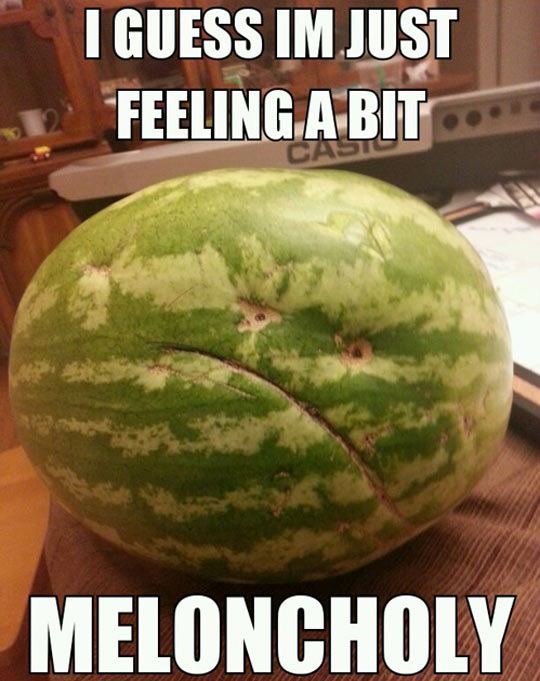 Depressed Melon