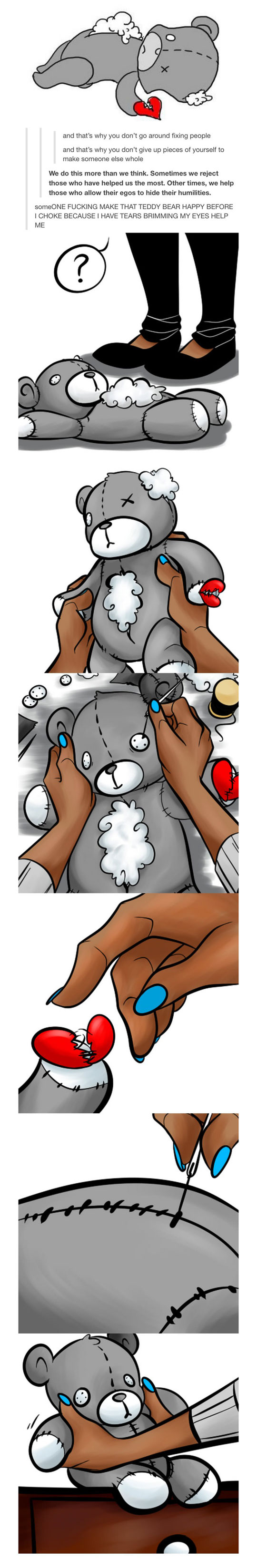 funny-webcomic-bear-fixing-Teddy-human