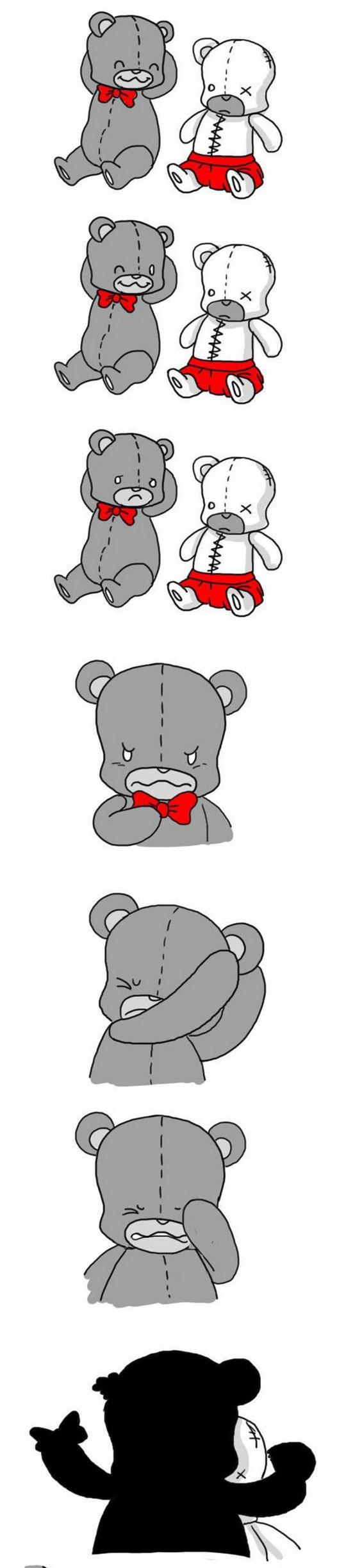 funny-webcomic-bear-fixing-ripping-ear