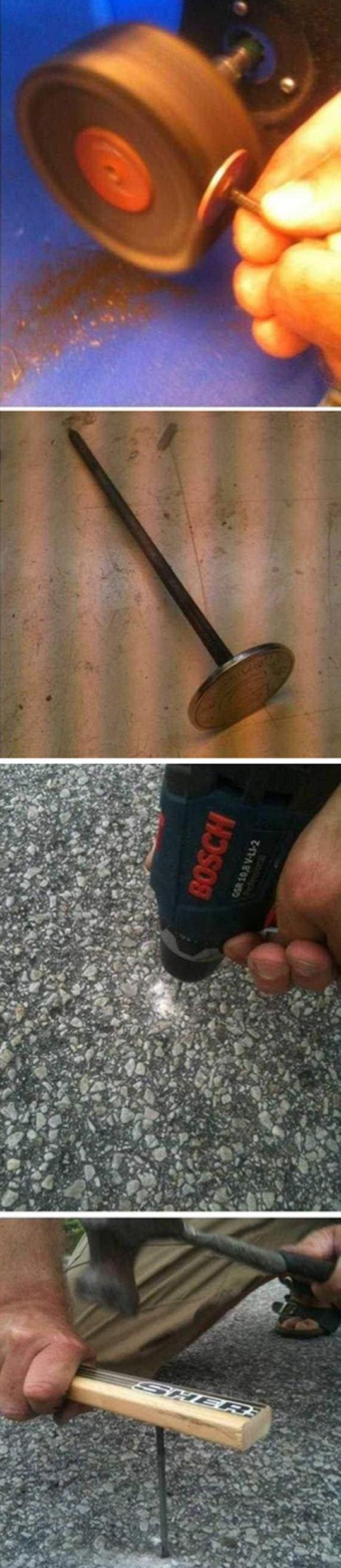 funny-welded-coin-prank-floor