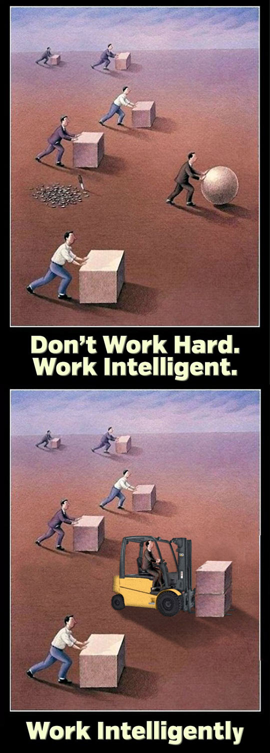 This Is What Work Intelligently Looks Like