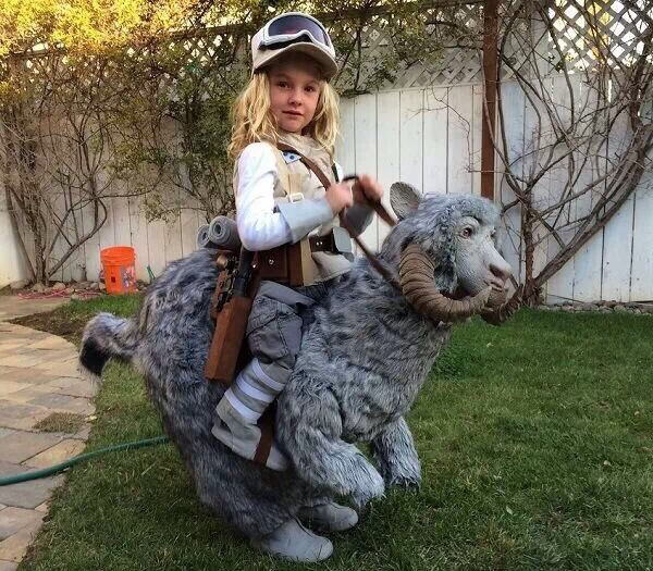 Out of all the Star Wars costumes for kids I've seen, this is probably the best