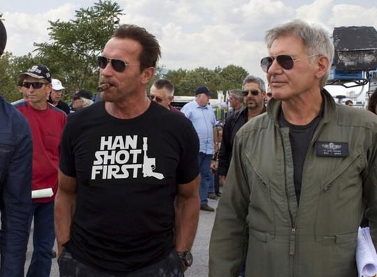 An Awesome Shirt, Arnold