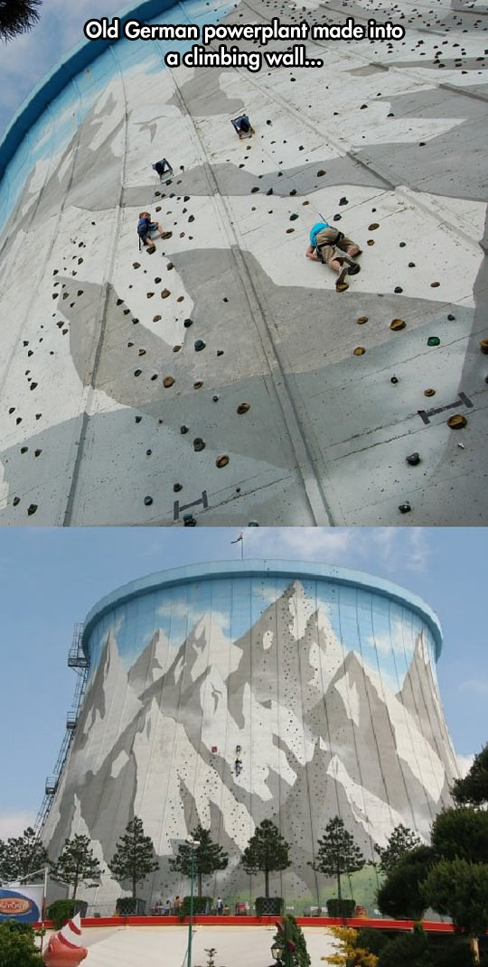 Incredible Climbing Wall