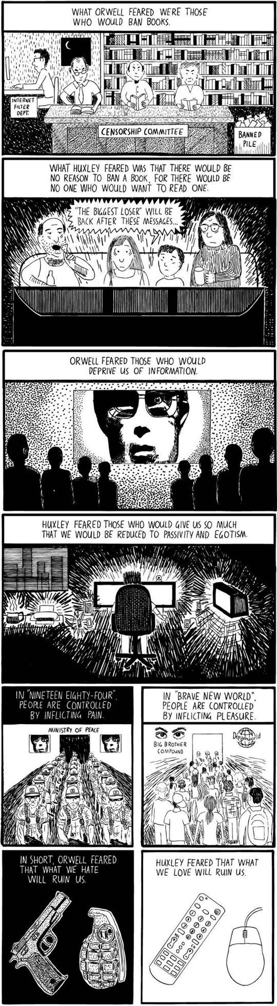 cool-Huxley-Orwell-comic-explained