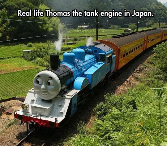 Real Life Thomas The Tank
