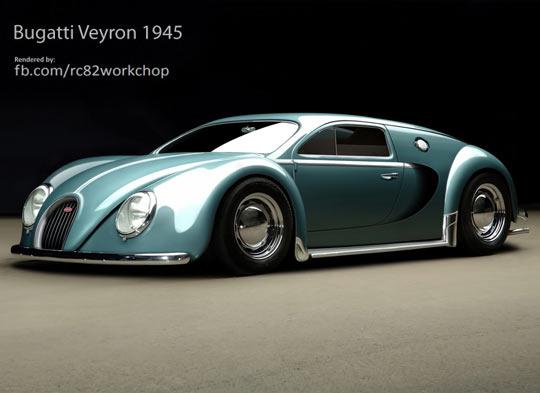 cool-car-Bugatti-Veyron-design-beautiful