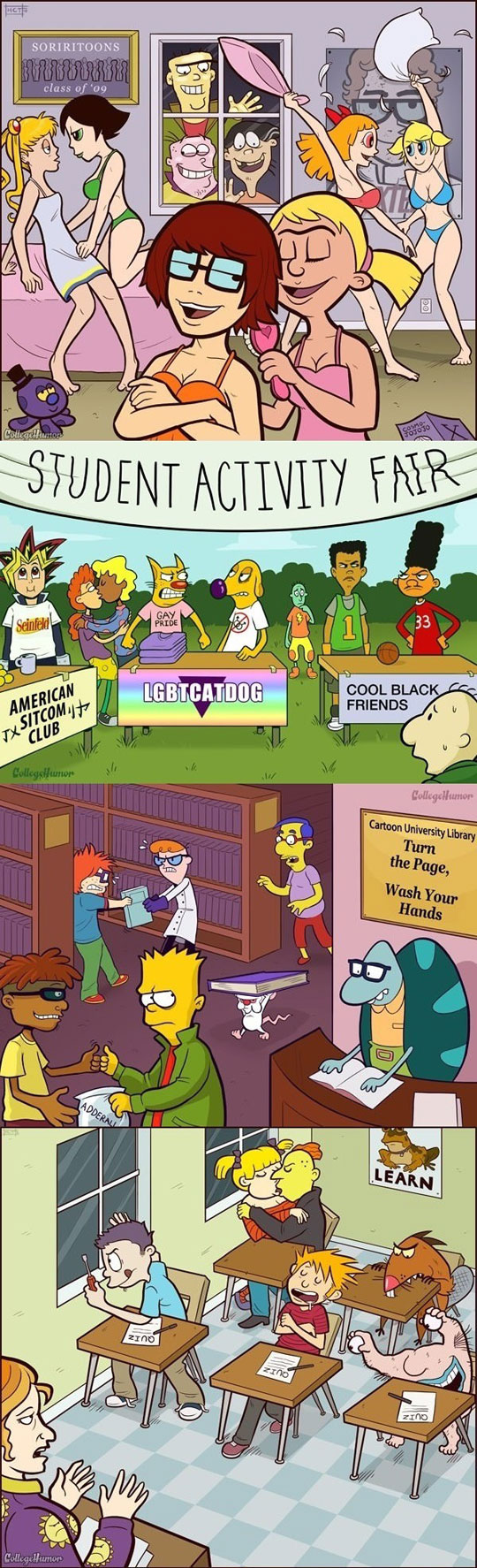 cool-cartoon-characters-college-party-beer