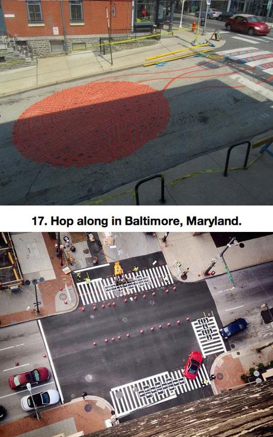 cool-crosswalk-artwork-aerial-view