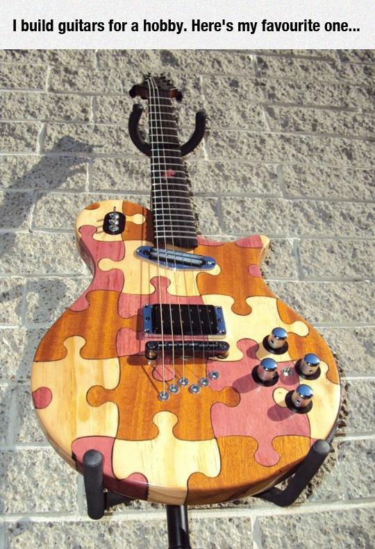 cool-homemade-guitar-puzzle-design