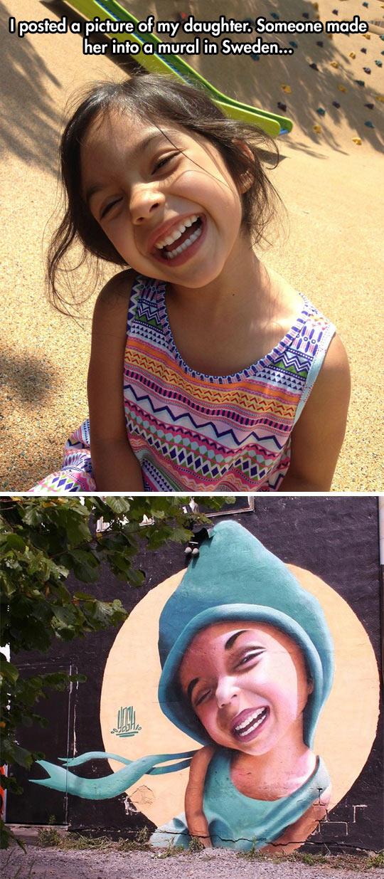 cool-little-girl-mural-artist-smile