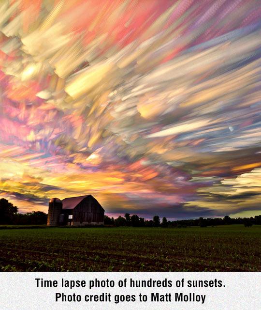 Hundreds Of Sunsets