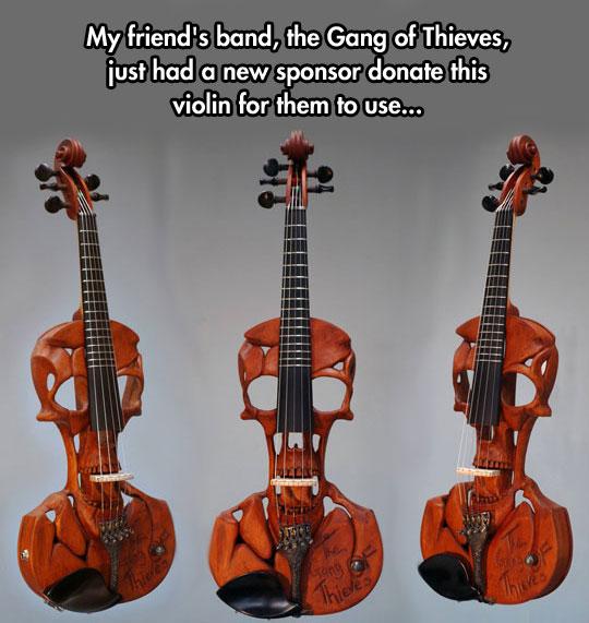 Amazing Violin Mod