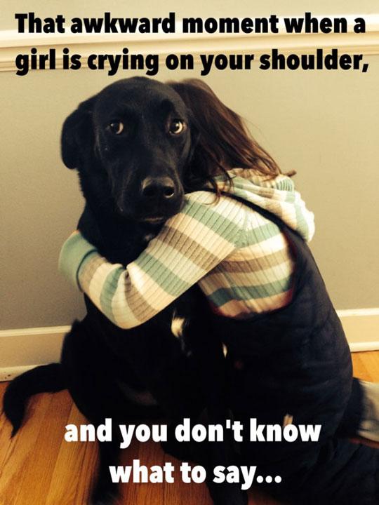 cute-girl-hugging-dog-crying