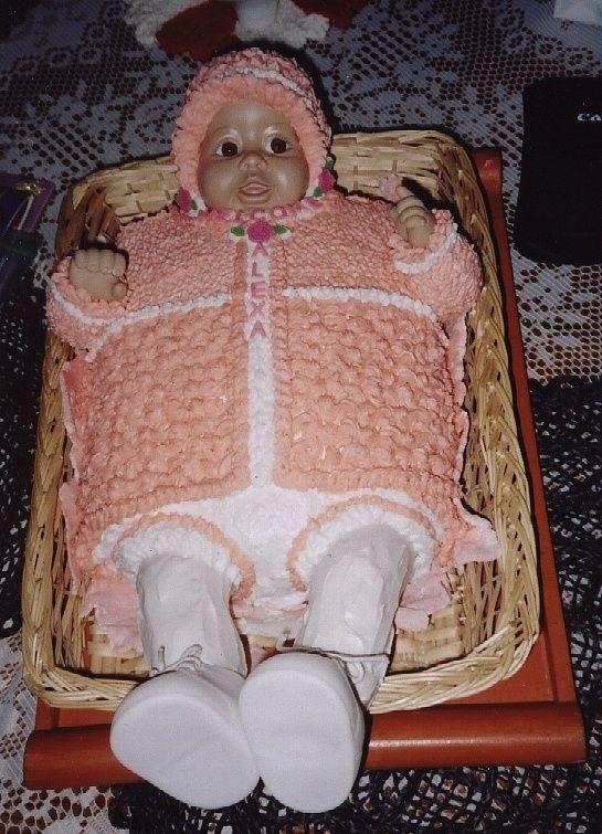 Nightmarish Baby Shower Cakes 18 Pics