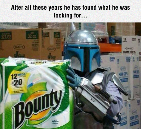 He Found The Bounty