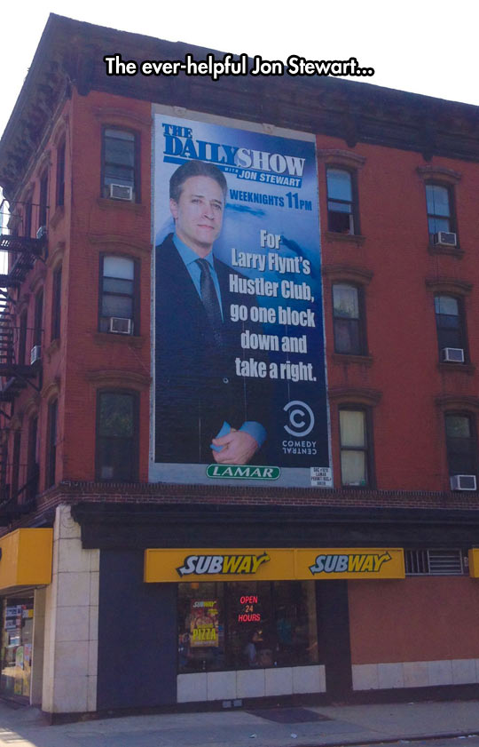 funny-Daily-Show-sign-ad-direction