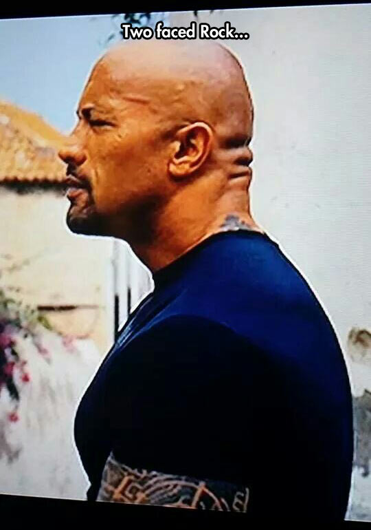 funny-Dwayne-Johnson-Rock-two-faces