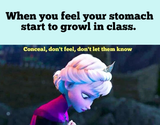 funny-Elsa-stomach-class-growl