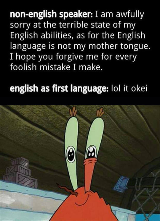 Two Types Of English Speakers