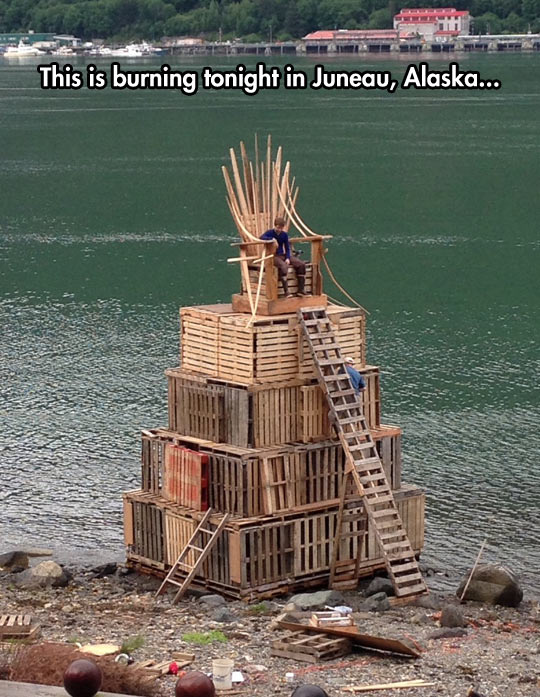 The Wood Throne