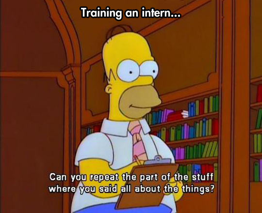 Training An Intern