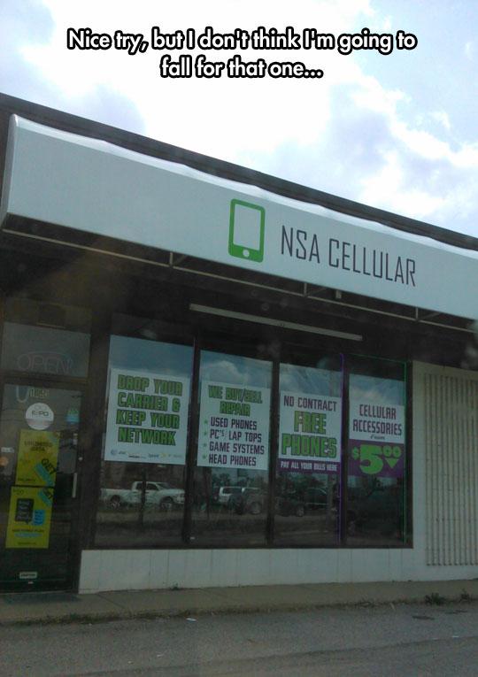 Nice Try, NSA