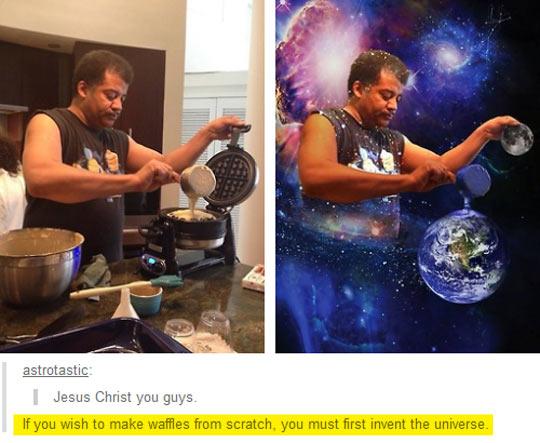 DeGrasse Tyson Cooking