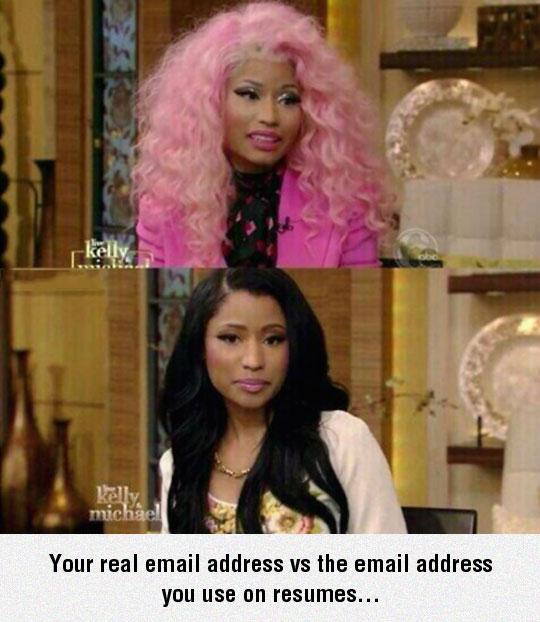 E-Mail Addresses I Use