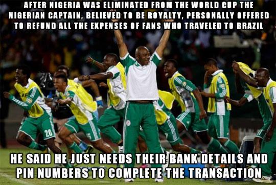 Good Guy Nigerian Captain