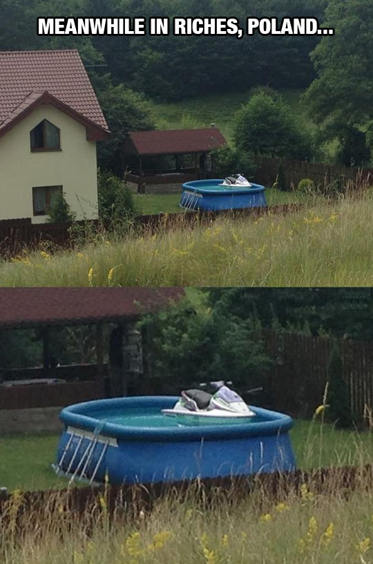 funny-Poland-house-pool-water-motorbike