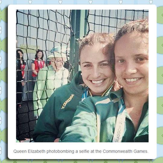 funny-Queen-Elizabeth-photobombing-selfie