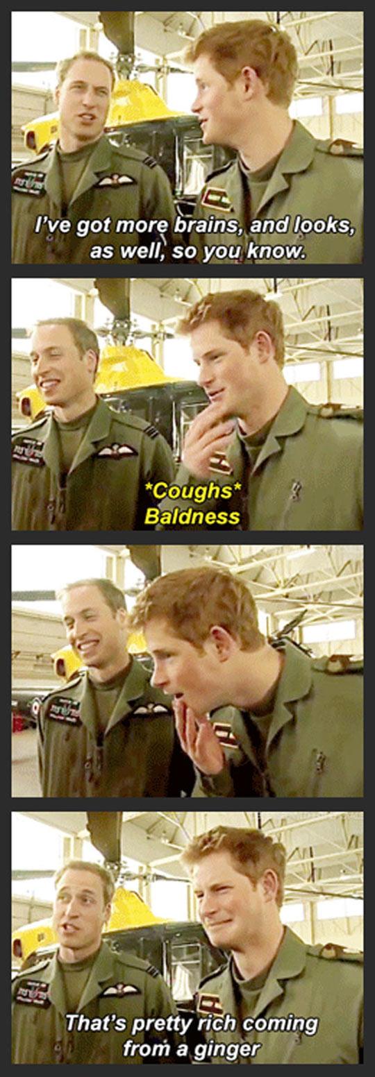 Royal Family Burn
