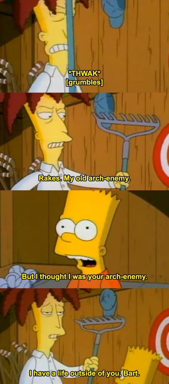funny-Simpsons-rakes-Sideshow-Bob